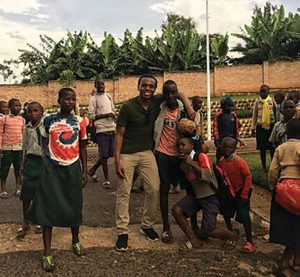 Jonathan in Rwanda
